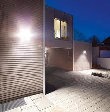 Bright exterior lights